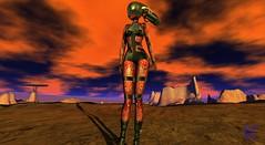 Arrival (Sweet.Bliss) Tags: scifi apocalyptic cyber alien planet secondlife azoury araxes cosmopolitanevent stargazercreations maitreya vistaanimations dappa amias wiccaswardrobe