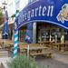 Ein Biergarten in der Innenstadt Venlos