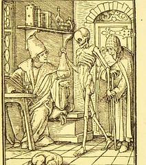 This image is taken from Page 43 of Der Todtentanz von H. Holbein, nach dem Exemplare der ersten Ausgabe im Kgl. Kupferstich-Cabinet zu Berlin in Lichtdruck nachgebildet (Medical Heritage Library, Inc.) Tags: dance death rcplondon ukmhl medicalheritagelibrary europeanlibraries date1879 idb22651263