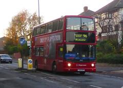 SLN 18465 - LX55EPP - OSF - WATLING STREET BEXLEYHEATH - SAT 17TH NOV 2018 (Bexleybus) Tags: stagecoach london adl dennis trident alx400 alexander tfl route 96 watling street bexleyheath kent da7 18465 lx55epp