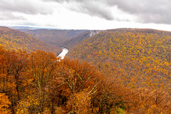 MCZ_2206 (markczerner) Tags: landscape outdoors fall colors fallcolors autumn orange red trees nature river coopers rock coopersrock statepark park west virginia wv wva countryroads country roads cheatriver valley mountains forest