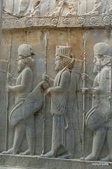 005 Hundred Column Hall (Sedsetoon), North Doorway, Persepolis  (5).JPG (tobeytravels) Tags: artaxerxes xerxes ahurmazda alexanderthegreat
