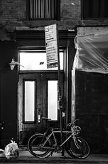 Double bicycle (Edgar.Omar) Tags: nyc manhattan lowermanhattan stonestreet pentax pentaxm urban pentaxm3528 k50