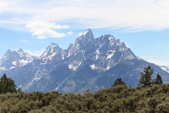 grand tetons- June 2015 (Peeb OK) Tags: tetons wyoming canon landscape nature sky clouds mountain mountains