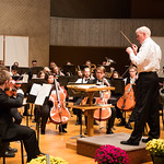 "<b>2018 Homecoming Concert</b><br/> The 2018 Homecoming Concert, featuring performances from the Symphony Orchestra, Concert Band, and Nordic Choir. October 28, 2018. Photo by Nathan Riley.<a href=""//farm5.static.flickr.com/4803/44874546505_1d5689621d_o.jpg"" title=""High res"">&prop;</a>"