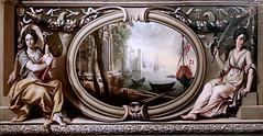 IMG_4008F Nicolas Mignard. 1606-1668. Avignon et Paris  Paysage avec ruines antiques entre la Renommée et la Victoire.  Vers 1638 Landscape with ancient ruins between Fame and Victory.  Avignon Musée Calvet. (jean louis mazieres) Tags: nicolas mignard davignon 16061668 avignon peintres peintures painting musée museum museo france muséecalvet