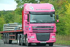 DAF XF Seth Punchard AE62 BVB (SR Photos Torksey) Tags: transport truck haulage hgv lorry lgv logistics road commercial vehicle freight traffic daf xf seth punchard