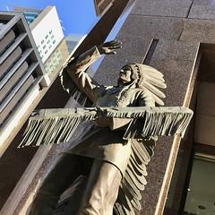 Chief (Ricky Leong) Tags: alberta art calgary canada photowalk random statue urban