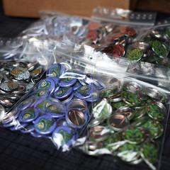 NEW BUTTONS (Teratoiid) Tags: teratoiid button buttons badge badges bruxelles brussels monster monsters monstre monstres