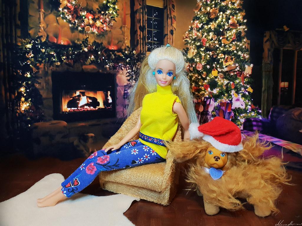 Barbie Mermaid 1991 Doll Spaniel Pet Alenamorimo Tags Barbiedoll Dolls