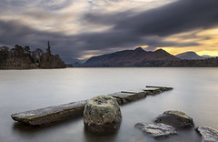 Isthmus Bay, Derwentwater, Keswick, Lake District (MelvinNicholsonPhotography) Tags: lakedistrict cumbria derwentwater lakes longexposure isthmusbay trees clouds rocks jetty nisifilters nisifilterukambassador canoneosr mirrorless benro benrotma48cxltripod benrotma48cxl mindshiftbacklight26lbag mindshiftgear