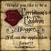 Cerridwens Cauldron Blogger aplication