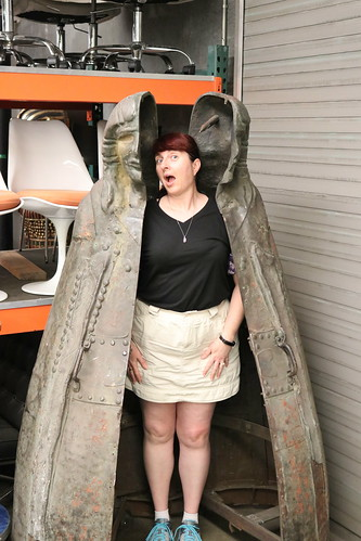 "Tracey in an Iron Maiden • <a style=""font-size:0.8em;"" href=""http://www.flickr.com/photos/28558260@N04/45454872594/"" target=""_blank"">View on Flickr</a>"