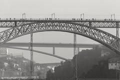 3 bridges (csalgar) Tags: portugal porto oporto canon 450d puente bridge duero douro river río 55250