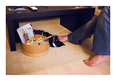 _PRE7178 (Jordane Prestrot) Tags: ♎ jordaneprestrot chat cat gato riesling pied foot pie tricot knitting tejido