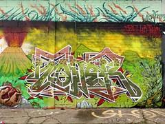 Dzia, Ler & Toner / Bruxelles - 22 dec 2018 (Ferdinand 'Ferre' Feys) Tags: bxl brussels bruxelles brussel belgium belgique belgië streetart artdelarue graffitiart graffiti graff urbanart urbanarte arteurbano ferdinandfeys dzia dziakrank ler