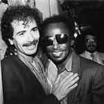 Carlos Santana and Miles Davis, the Savoy, New York City, 1981 thumbnail