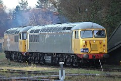 UKRL Class 56 104 and 56 098 at Leicester (Adam Fox - Plane and Rail photography) Tags: locomotive diesel rail british railway train 56098 56104 class 56 087 56087 colas loco railroad br railways grid grids locos locomotives