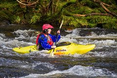 IMG_3076 (Marklucylockett) Tags: 2018 canon7d dartmoor dartmoornationalpark december devon kayak kayakers kayaking marklucylockett rapids river riverdart uk