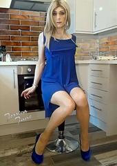 New Year Blue (jessicajane9) Tags: tg crossdresser tgurl feminised tranny cd transvestite crossdressing travesti feminization tv m2f transgender crossdress tgirl femme