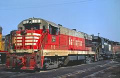 CB&Q U28B 110 (Chuck Zeiler 48Q) Tags: cb u28b 110 burlington railroad ge locomotive denver train alchione chz