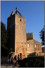Torre de les Hores, Peratallada (el Baix Empordà) (Jesús Cano Sánchez) Tags: elsenyordelsbertins fujifilm xq1 catalunya cataluña catalonia gironaprovincia emporda ampurdan baixemporda bajoampurdan forallac peratallada torre tower romanic romanico romanesque catalunyaromanica catalunyamedieval middleages