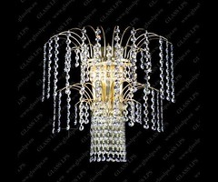 N25 775/02/6 - Glass LPS - kinkiet klasyczny kryształowy (abanet.pl) Tags: abanetkrak lampy glasslps modern design o rabaty glass lps kinkiet klasyczny 775