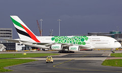 Emirates A380-861 A6-EOK. (Cameron Gaines) Tags: cn 184 first flew toulouse blagnac 18th february 2015 fwwsu the aircraft was delivered emirates 14th july a6eok in may 2018 received expo 2020 titles current november man egcc manchester airport