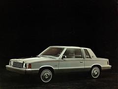 1981 Dodge Aries K-Car Two-Door Sedan (aldenjewell) Tags: 1981 dodge aries kcar two door sedan dealer flyer