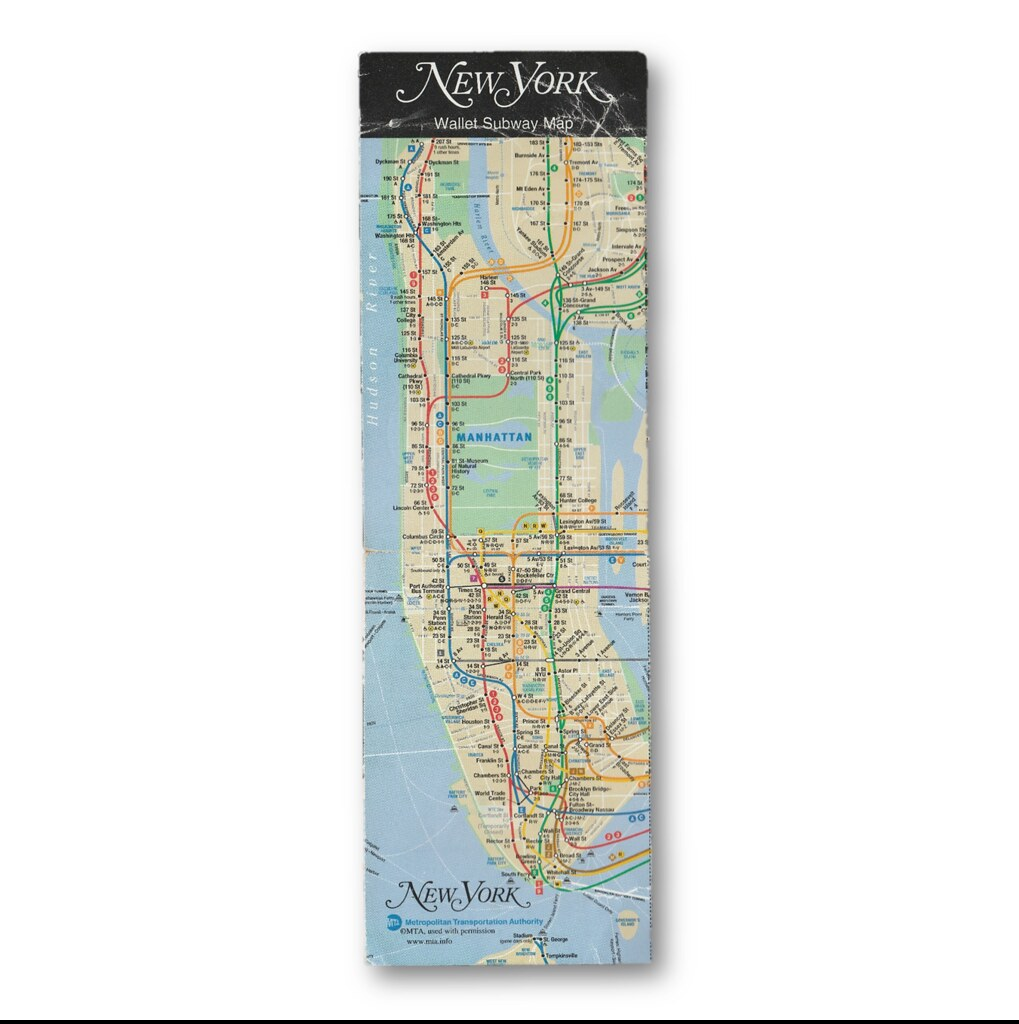 New York Subway Map Wallet.The World S Best Photos Of Map And Nyc Flickr Hive Mind