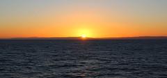 Sunrise over the Firth of Clyde Scotland (Dave Russell (1 million views thanks)) Tags: brodick ardrossan calmac caledonuian macbrayne ferry hebridean isles firth clyde scotland sunrise sun rise view vista scene scenery sea ocean water marine maritime coast coastal seascape scape outdoor canon eos 700 eos700 morning