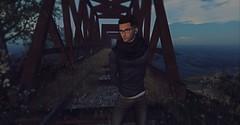 The bridge [the bridge takes me to unexplored land]