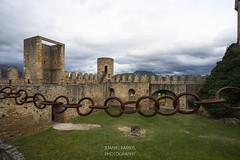 SITIOS DE BURGOS (jramosvarela) Tags: castillo antiguo patio 2016 burgos cadena frias castle chateau old
