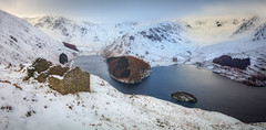 The Old Barn, Haweswater (kieran_metcalfe) Tags: stone building winter lakedistrict water frost lake snow barn lakeland reservoir trees cold dawn scenery countryside outbuilding cloud scenic island sky nature goldenhour ruin landscape highstreet