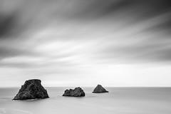 Rocky 3 (frank_w_aus_l) Tags: frankreich natur nature coast penhir france rain sky longexposure nikkor 1635 nikon d810 monochrome sw bw black blackandwhite white three water sea bretagne brittany
