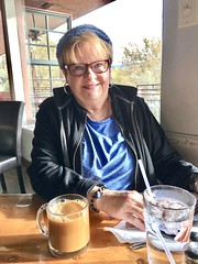 Breakfast with Mary at Creekside American Bistro in Sedona, Arizona (lamarstyle) Tags: lamarstyle lamarstylepblamar 2018 iphone iphone6s breakfast sedonaarizona