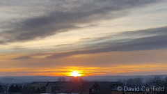 December 7, 2018 - Beautiful sunrise. (David Canfield)