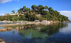 Corfu Island 002 (A.S. Kevin N.V.M.M. Chung) Tags: corfu island greece sunnyday sunny sunshine sea ocean adria sky blue bluesky hill houses water clear しま 島 科孚島 希臘