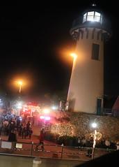 018 Guests Gather At The Lighthouse (saschmitz_earthlink_net) Tags: 2018 california marinadelrey boat parade marinadelreyboatparade christmasparty suez