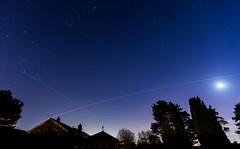 ISS Feb 8 (nicklucas2) Tags: astrophotography internationalspacestation iss zarya night stars moon