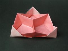 Triangular toolbox (Mélisande*) Tags: mélisande origami box toolbox hexagon