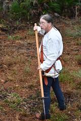 EEF_7630 (efusco) Tags: boar medieval spear brambleschoolearteofthehunt bramble schoole military arts academy florida ferel hog pig