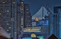 you know your culture from your trash (pbo31) Tags: sanfrancisco california city night dark over fog rain wet nikon d810 color january 2019 boury pbo31 civiccenter foxplaza siemer patrix skyline hdr baybridge sfmoma contemporary soma w hotel construction crane blue