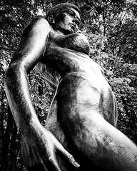 Artistic body 01 (Marcel van Hoof) Tags: statue bw blackandwhite erotic naked design woman art body