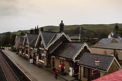 IMG_5004  Settle Railway Station (Beth Hartle Photographs2013) Tags: yorkshire settle settlecarlislerailway railway station