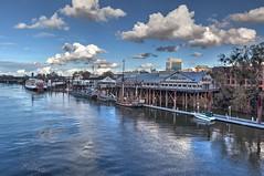 Old Sacramento Waterfront (claytoncress) Tags: california northamerica sacramento usa