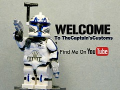 TheCaptain'sCustoms Now On Flickr! (TheCaptain'sCustoms) Tags: customrexminifig lego star wars custom minifigure youtube thecaptainscustoms chris themoosefigs legocustom
