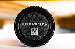 Body cap, Olympus. (CWhatPhotos) Tags: cwhatphotos camera photographs photograph pics pictures pic picture image images foto fotos photography artistic that have which contain bodycap body cap black micro four thirds olympus macro closeup 30mm em10 mk lll plastic 43 rds 43rds light shadow art round circle circular graphic bw logo vision approach view