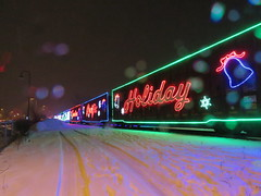 CP Holiday Train 2018/ Train des Fetes du CP (anng48) Tags: cpholidaytrain christmas beaconsfield train railroad montreal quebec qc canada winter traindesfetesducp canadianpacificrailway cpr