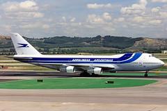 Aerolineas Argentinas Boeing 747-200 LV-OEP (gooneybird29) Tags: flugzeug flughafen aircraft airport airplane airline mad boeing 747 lvoep aerolineasargentinas